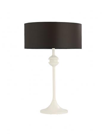 Geovana 1-es asztali lámpa törtfehér
