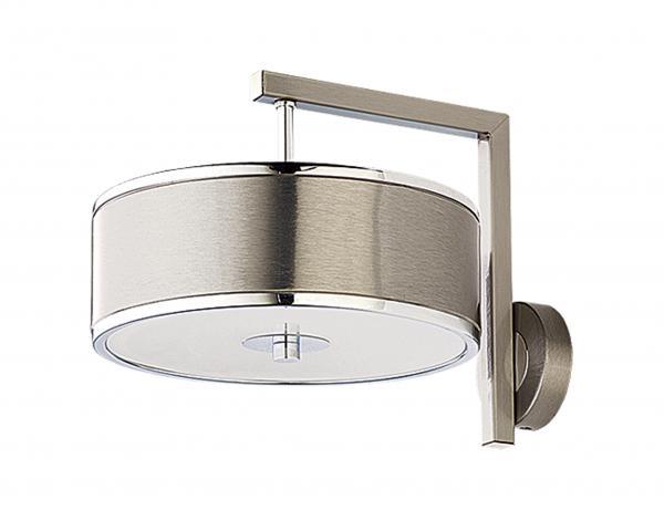 Gaetana 1-es fali lámpa króm+ezüst