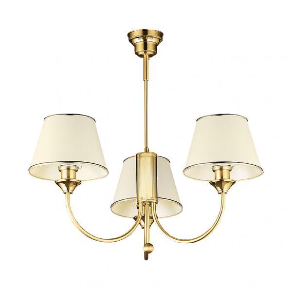 Cadenza 3-as csillár szaténfényű bronz