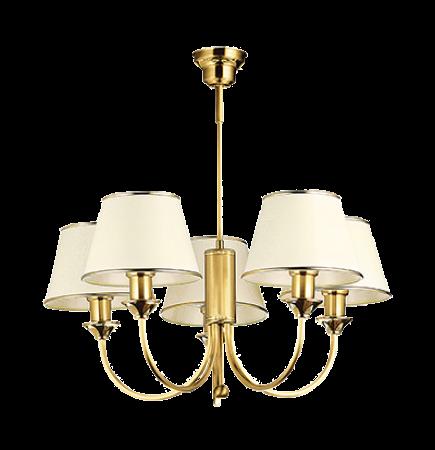 Cadenza 5-ös csillár szaténfényű bronz