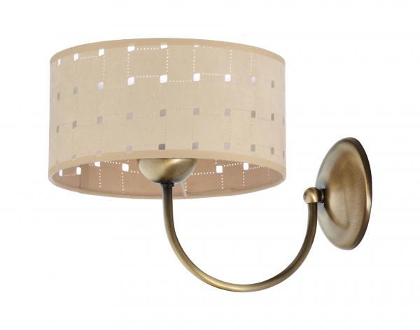Oriana 1-es fali lámpa patinált bronz