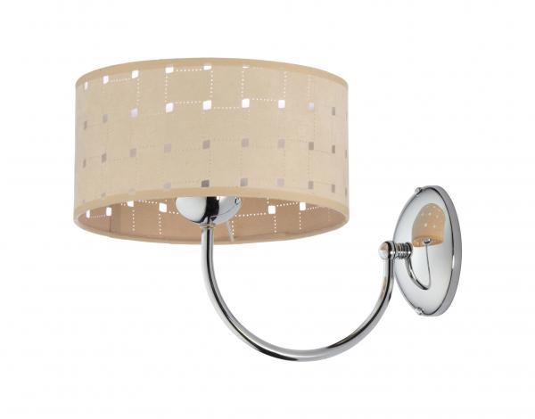 Oriana 1-es fali lámpa króm-tölgy