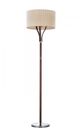 Oriana 1-es állólámpa króm-tölgy