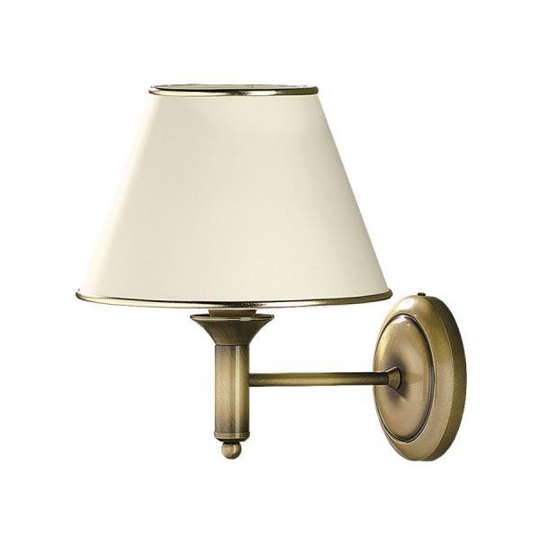 Cadenza 1-es fali lámpa M-es patinált bronz