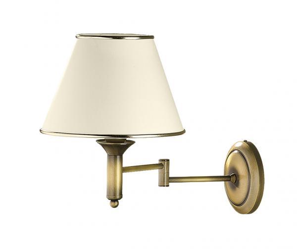 Cadenza 1-es fali lámpa mozgatható patinált bronz