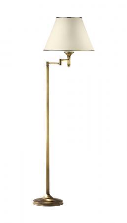 Cadenza 1-es állólámpa mozgatható patinált bronz