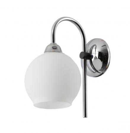Amalea 1-es fali lámpa króm+grafitszürke