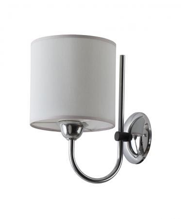 Trilby 1-es fali lámpa króm+grafitszürke
