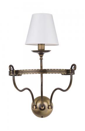 Bruna 1-es fali lámpa patinált bronz