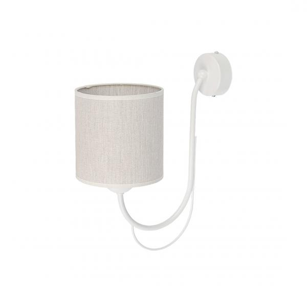 Giana 1-es fali lámpa fehér