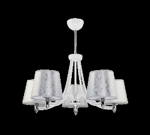 Oria 5-ös csillár fehér