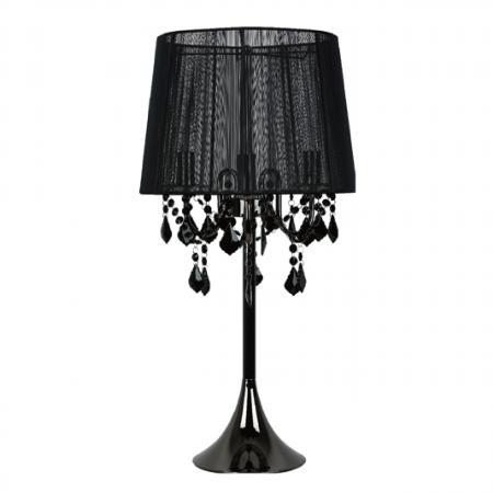 Mona asztali lámpa fekete